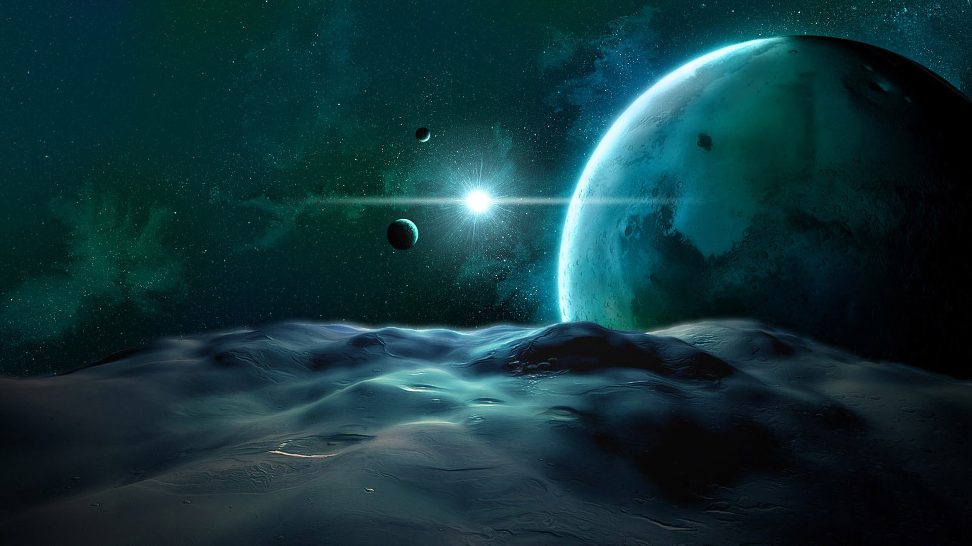 Space wallpaper art originals 1920x1080
